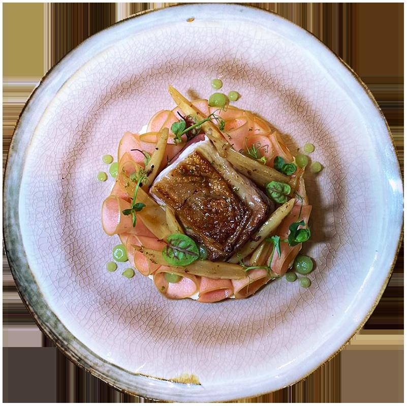 Cote dagneau puree de panais pommes Rotisserie Ardennaise Chef a Domicile copie